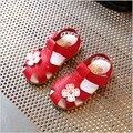 Прохладный Кожа PU Обувь Для Девочек детские Летние Новорожденных Девочек Сандалии Обувь Skidproof Малышей Младенческой Дети Дети Цветов Обувь Размер 21-30