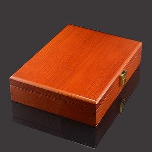 Image 5 - Savoyshi Luxe Manchetknopen Geschenkdoos Hoge Kwaliteit Geschilderd Houten Doos Authentieke Maat 240*180*55Mm Capaciteit Sieraden opbergdoos Set
