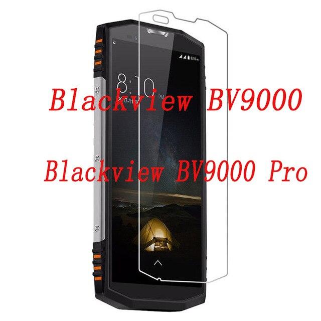 Smartphone verre trempé pour Blackview BV9000 BV8000 BV7000 BV6000 Pro Film de protection antidéflagrant écran protecteur crique