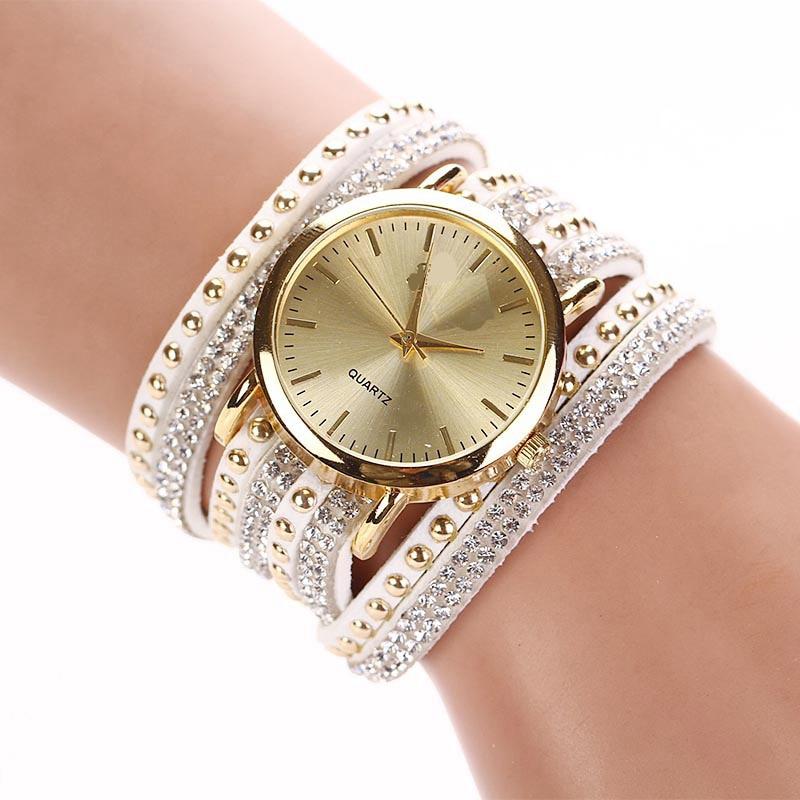 Montre Femme Luxury Women Watches watch Rhinestone Bracelet Quartz Watch Wristwatch Relogio Feminino Reloj Mujer sinobi ceramic watch women watches luxury women s watches week date ladies watch clock montre femme relogio feminino reloj mujer