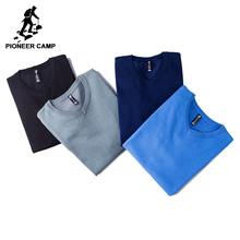 Pioneer Camp 2018 New Mens Sweaters famouse brand Pull Homme Pullover Men Casual leisure Jersey Hombre