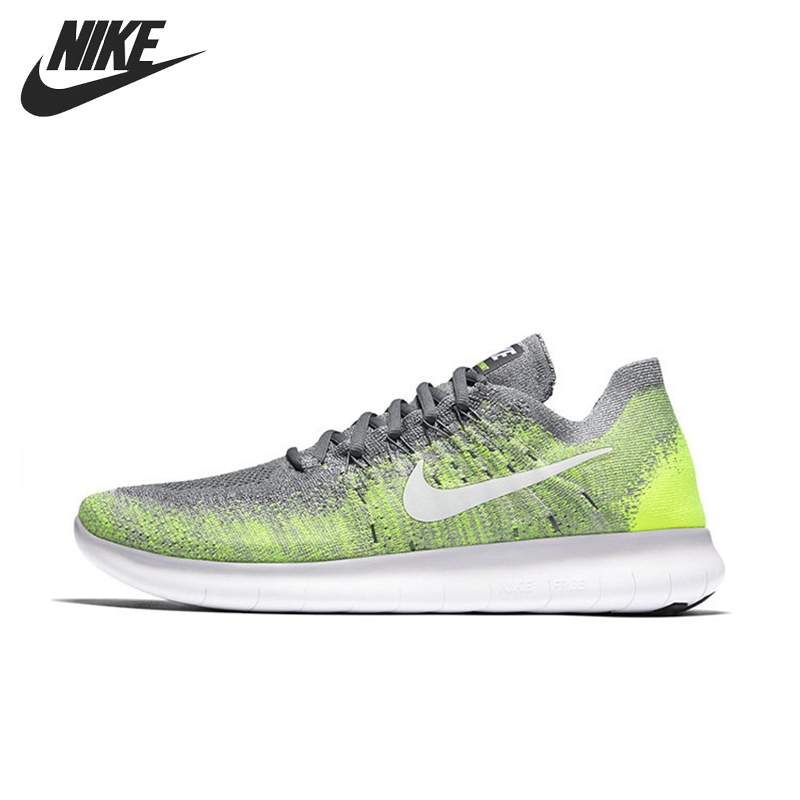 Original New Arrival NIKE FREE RN FLYKNIT Men's Running Shoes Sneakers original new arrival nike free rn flyknit r women s running shoes sneakers