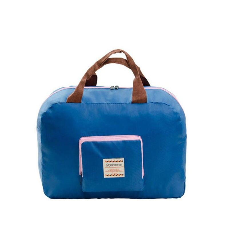 Classic Fashion Large Capacity Women Foldable Bags For Traveler Casual Travel Bags Top-handle Big Tote Handbags Shoulder Bags