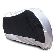 XXL srebrne motocyklowe pokrowiec na BMW R1150GS przygoda R1200GS przygoda R1200RT / Honda Shadow ducha Aero VLX VT750 VT1100 600