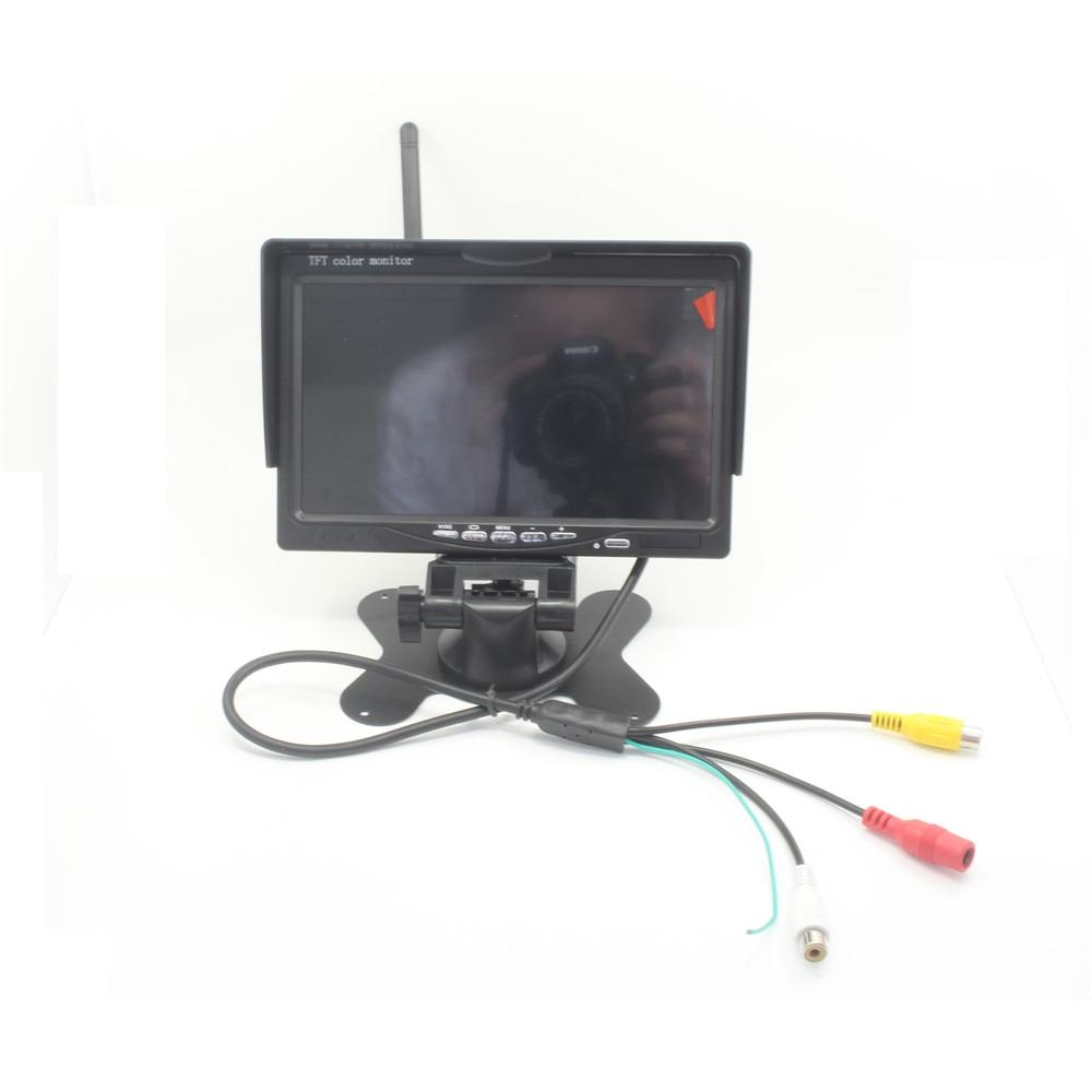 7 дюймов FPV-системы Мониторы 5.8 Г 40CH приемник TS5828L 600 МВт передатчик 1000TVL Камера изображения Трансмиссия для Дистанционное управление FPV-систе...