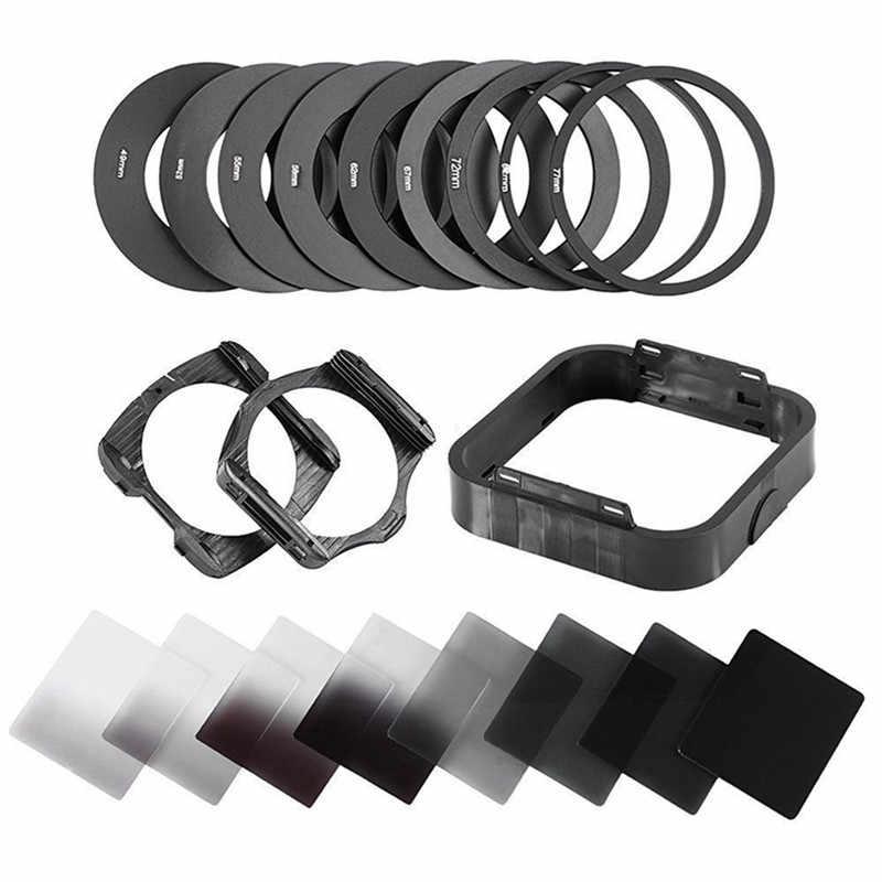 Zomei filtros Cuadrados Set para Cokin P Series Pro SLR DSLR C/ámara Fotogr/áfica ND Filtro de Densidad Neutra