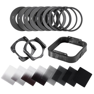 Zomei Camera Filtro Gradient Neutral Density Gradual ND Square Resin Filters Adapter Rings Holder Cokin P Series system for DSLR(China)