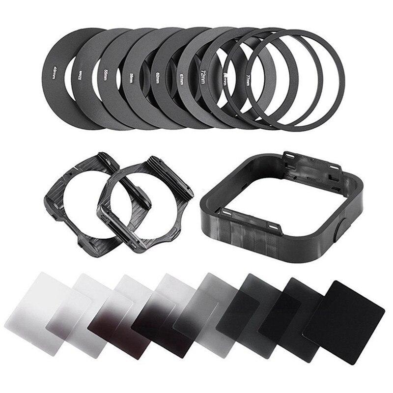 Zomei Kamera Filtro Gradienten Neutral Density Schrittweise ND Platz Harz Filter Adapter Ringe Halter Cokin P Serie system für DSLR