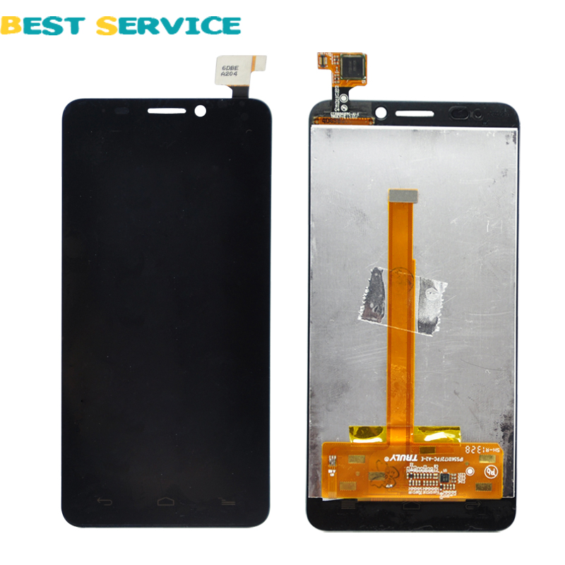 ФОТО 100% Tested New LCD Display +Digitizer touch Screen For Alcatel One Touch Idol S 6034 OT6034 6034R 6034Y 6034M
