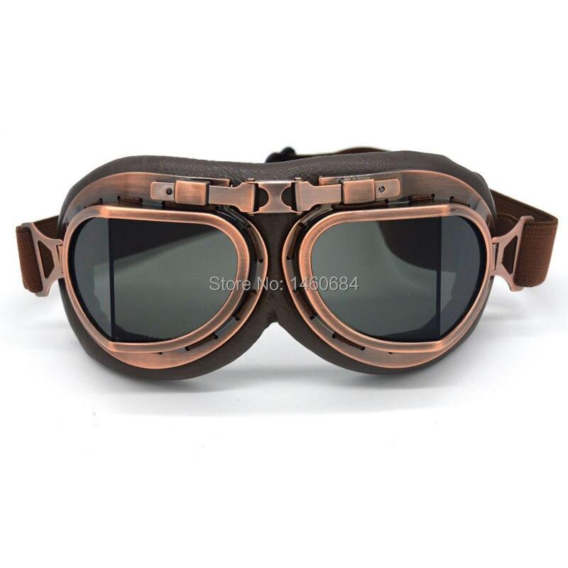 Unisex motorradbrille vintage gafas motocicleta lunette moto motocross atv roller touring brille heißer verkauf