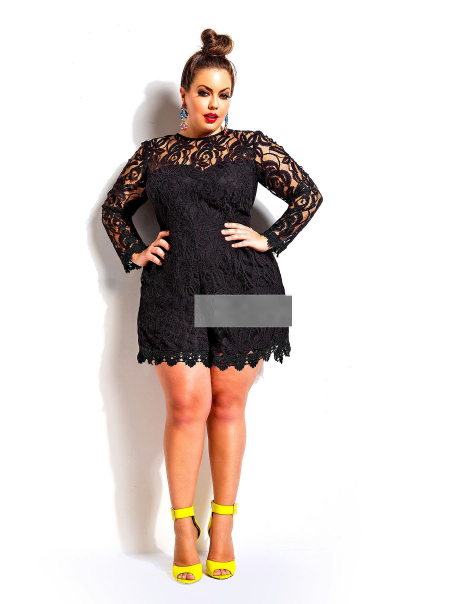 plus size rompers womens jumpsuit 2015 lace up bodysuit sexy