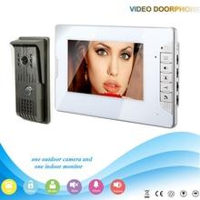 XSL-V70E-F 1V1 XSL Manufacturer 2016 Hot Sale Video Door Phone 7 inch Color Video Intercom System LCD