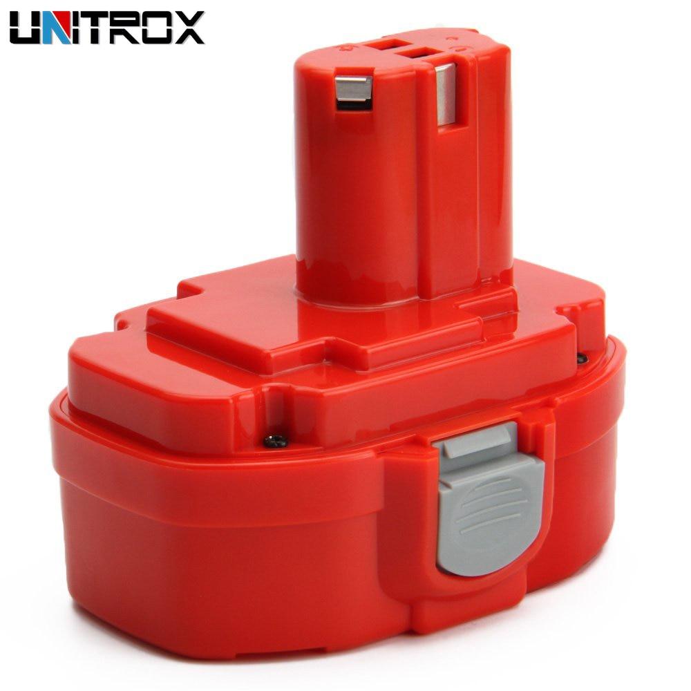 Makita 18 V 3500 mAh Ni-MH Batterie De Remplacement Compatible avec Makita PA18 1822 1823 1834 1835 192826-5 192827-3 192829-9 193159-1