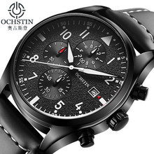 OCHSTIN Watch Men Business Chronograph Luminous Waterproof W