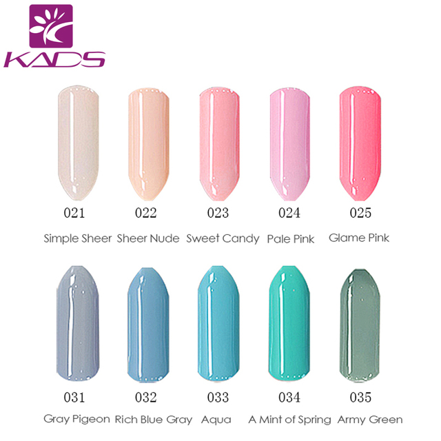 KADS 1Pcs Nail Gel Polish Gel Soak-off Gel Nail LED UV 7ml  Nail Gel Long-lasting lacquers More engaging 4 Seasons