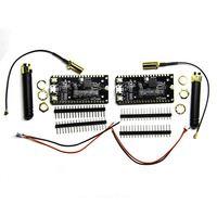 2Pcs Sx1276 Lora Esp32 868/915Mhz Bluetooth Wi Fi Internet Antenna Development Board For Arduino