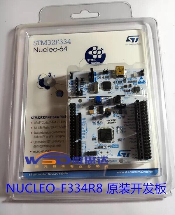 1PCS~5PCS/LOT  NUCLEO-F334R8  NUCLEO-64  STM32F334  Development Board Learning Board