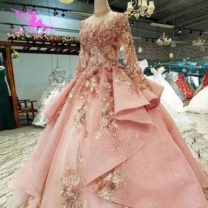 Image 3 - AIJINGYU חתונה שמלה שחור שמלות בתוספת גודל הכלה אינדונזיה Custom בדובאי שמלת שתי חתיכות זול כלה שמלות