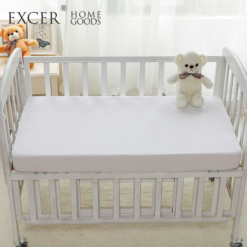 Crib Size Baby Mattress Protector 100 Waterproof Hypoallergenic Premium Cotton Terry Cover For Bed Bug Protection Pad