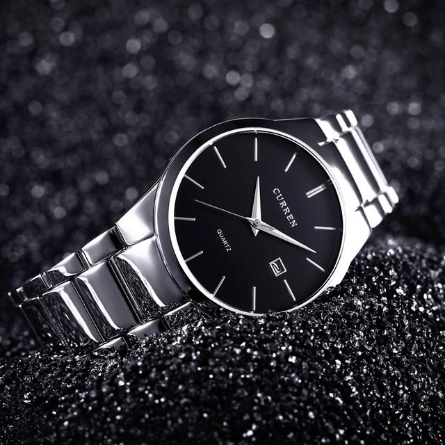 CURREN Luxury Analog Wristwatch /w Date Display