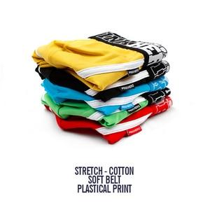 Image 2 - 5Pcs Pack/Lot Mens Boxer Pink Hero Cotton Underwear Pure Color Fashion Boxershort Sexy Shorts Man Plus Size Pouch Wholesale 14