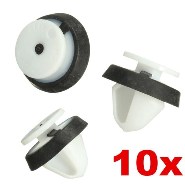 10x салона отделка двери панель карты столб зажимы для peugeot 207 807 6991Y8
