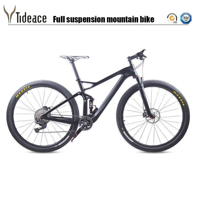 24d761e49 Tideace Carbon MTB suspension Mountain Bike 29er 10s or 11s Speed 29