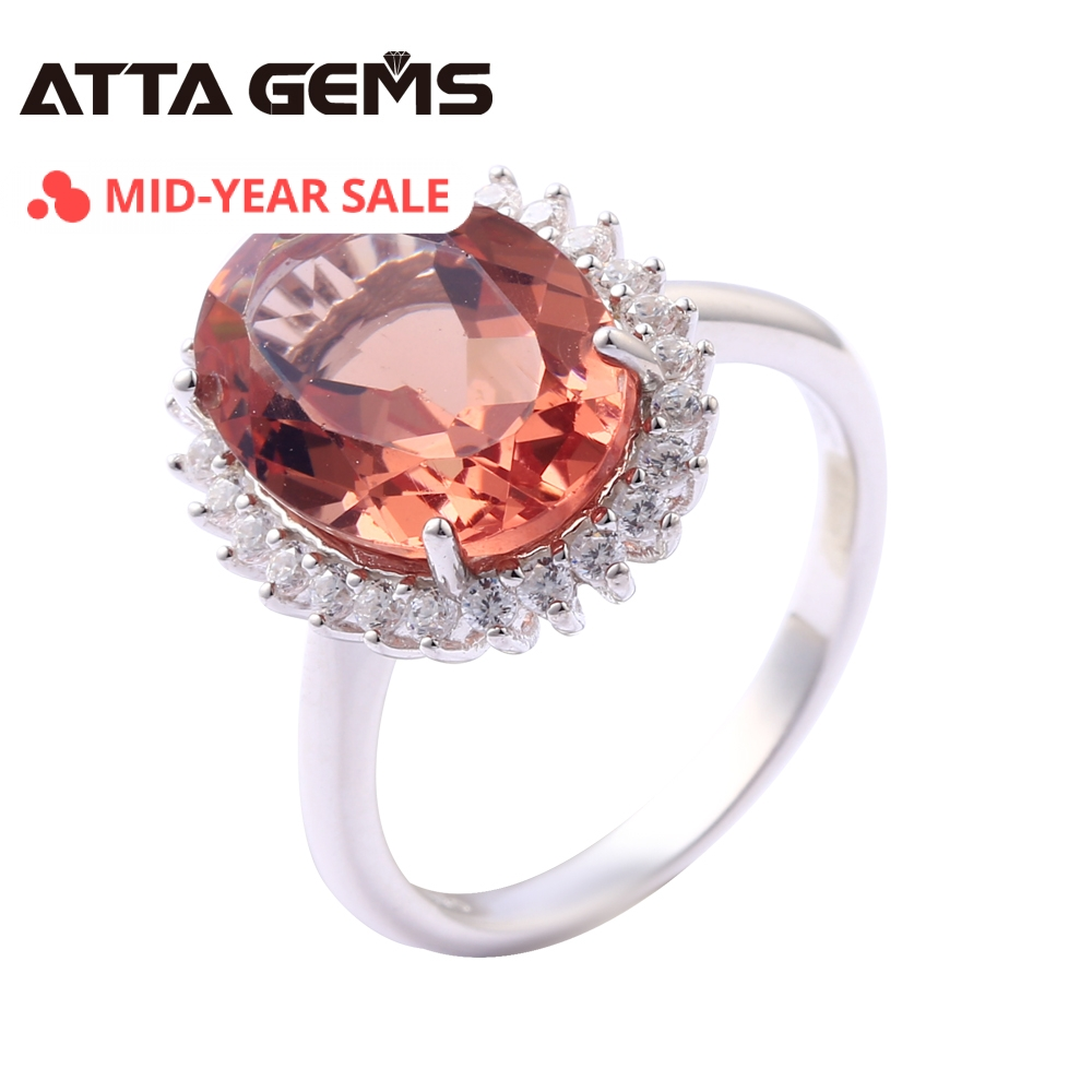 Bague en argent Sterling Zultanite pour femmes Style de fiançailles de mariage 7.2 Carats créé Zultanite S925 anneaux Design élégant de haute qualité