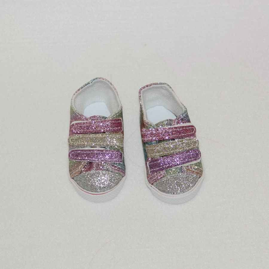 New Arrival Dolls Shoes for 43cm Born Baby And 1/3 BJD Doll Suit Reborn Babe 18 Inches American Doll Cute Sport Shoes 7cm