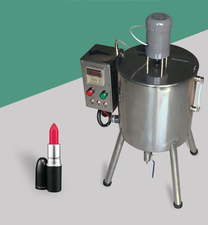Heating and stirring filling machine 15L lipstick filling machine hand soap filling machine lipstick quantitative filling цена