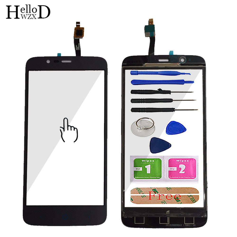 5.0'' Mobile Touchscreen Front Glass Touch Screen Glass For ZTE Blade A310 Digitizer Panel Sensor Flex Cable Tools Adhesive(China)