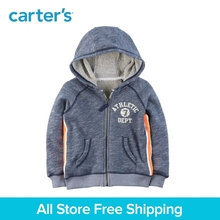 Carter's 1-Piece baby children kids clothing Boy Spring Zip-Up French Terry Hoodie 263H749