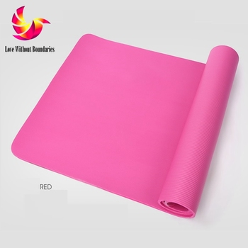 NBR SGS authentication, Yoga mat, fitness mat, exercise mat, anti slip blanket, 150 thousand fatigue and wear test, 10mm
