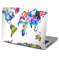 For Apple Macbook Sticker Pre Air and Retina Display Macbook Five continents 11 12 13 15 inch Skin Laptop Decal