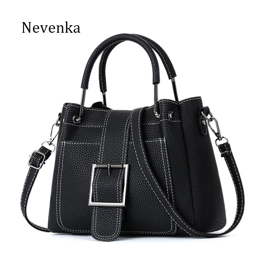 Nevenka Women Luxury Handbags Women Bags Designer Women Fashion Shoulder Bags High Quality PU Leather Crossbody Bag Casual Totes