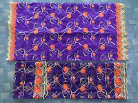Factory Offer Nigerian Bazin Riche Lace Fabric Latest High Quality African Bazin Riche Getzner Fabric For