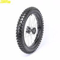 TDPRO 1.6x17 17 Off Road Moto Front Wheel Tire Rim Motocross Pneu Tyre Karting Dirt Bike For KX80 KX85 KTM85 RM80 Pitbike
