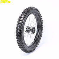 TDPRO 1.6x17 17 Off Road Moto Front Wheel Tire Rim Motocross Pneu Tyre Karting Dirt Bike For KX80 KX85 KTM85 RM80 Pitbike
