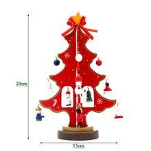 1pcs Christmas Tree Color Christmas Tree With Small Ornaments Christma Decorations For Home Party Xmas Gift Adornos Navidad 2016