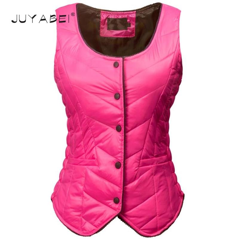 Plus Size Down Jacket Vest Women Short Paragraph Self-cultivation Warm Vest Harness Winter Female Shirt Liner Waistcoat 4 Colors