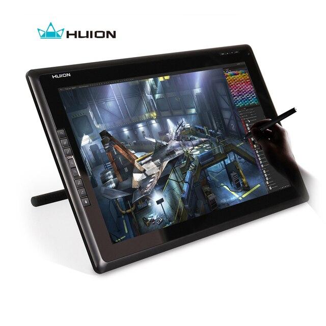 Горячие Продажи Новый Huion GT-185 Перьевой Дисплей Монитор ЖК-Мониторы Мониторы С Сенсорным Экраном Монитор Интерактивной Цифровой Планшетный Черный
