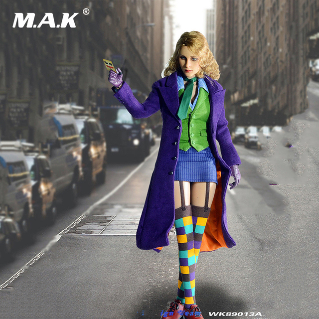 1/6 Scale  Female Joker Version 2.0 with Two Heads Action Figure for Collection