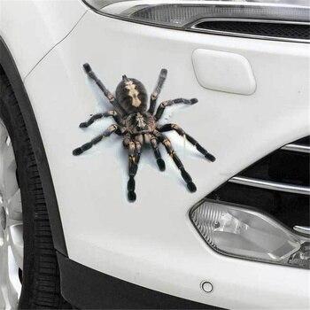 Pegatina 3D para coche, Araña, lagarto, escorpión, estilo animal, pegatina para Infiniti fx-series qx-series Coupe EX37 EX25 JX35 EX35