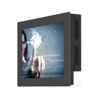 12 Inch Touch Screen Panel All In One PC Win 7 Industrial Touchscreen Computer 4 USB
