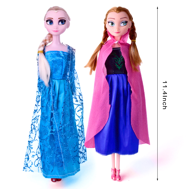 Toys For Kids Girls : Aliexpress buy fashion baby doll elsa anna kids