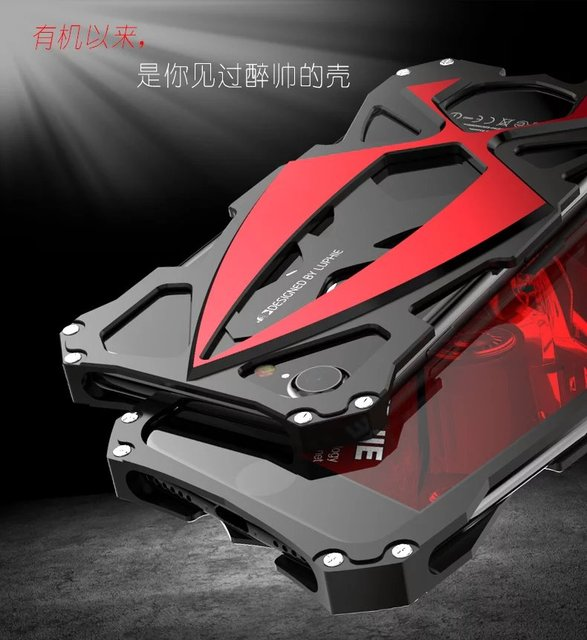 Aluminum Sport Car Shockproof phone case for iPhone 7