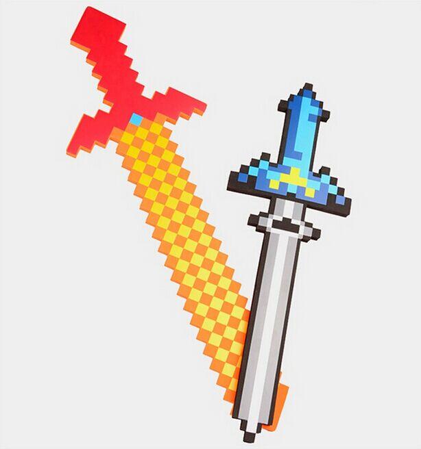 60 80cm Newest font b Minecraft b font Toys font b Minecraft b font big Sword