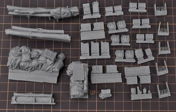1/35 Modified Parts Resin Supplies For WWII US Army Fury M4 M26 M10 M36 Tank 1 Set Accessory1/35 Modified Parts Resin Supplies For WWII US Army Fury M4 M26 M10 M36 Tank 1 Set Accessory