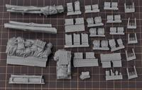 1/35 Modified Parts Resin Supplies For WWII US Army Fury M4 M26 M10 M36 Tank 1 Set Accessory