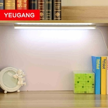 YUEGANG College students' dormitory led desk lamp eye study desk lamp tube usb reading lamp of the head of a bed